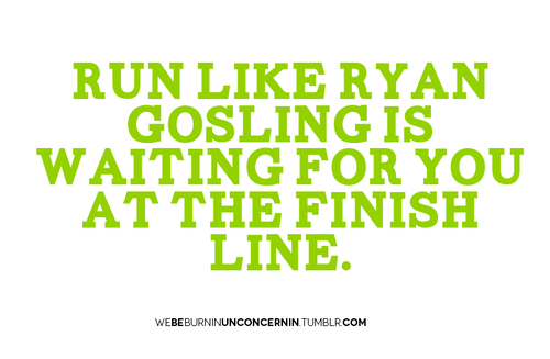 This might be motivation enough to run!