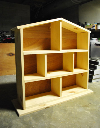 DIY Doll House. It's not too soon to make this, right?