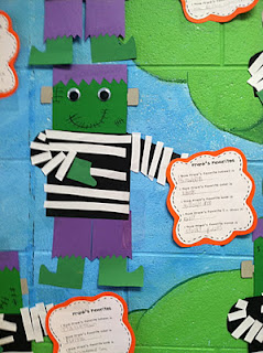 Life in First Grade: halloween-inference