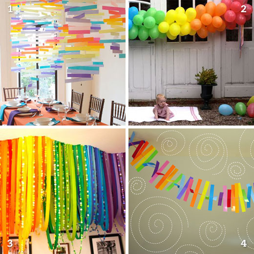 party decor at its best… and most colorful!