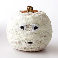 Such a cute crafty pumpkin.
