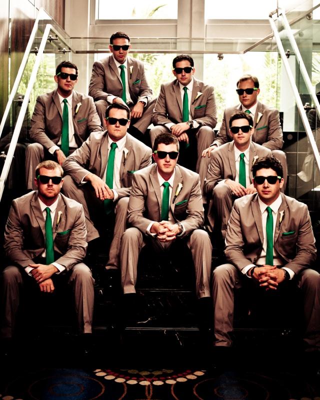 Cool groomsmen shot
