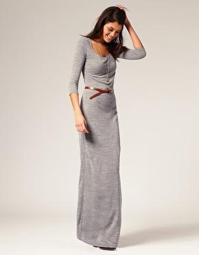 Knitted Urban Maxi Dress