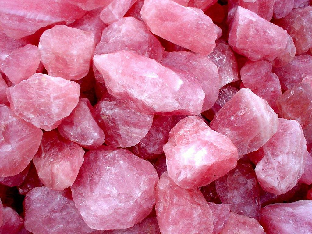 cheap attic ideas - Pink Quartz