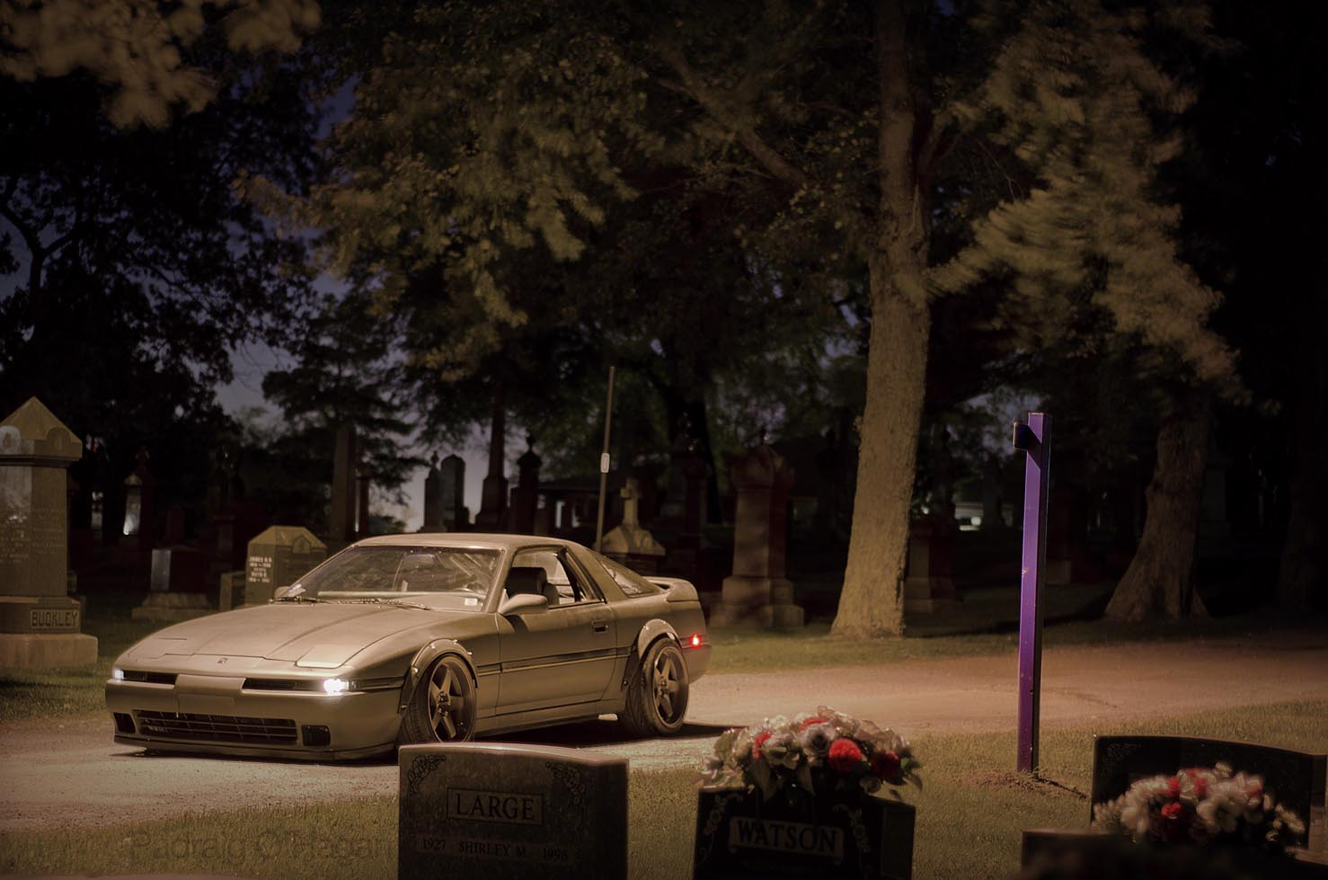 My favourite Mk3 Supra and one of my all time favourite cars. Bolt on arches, da