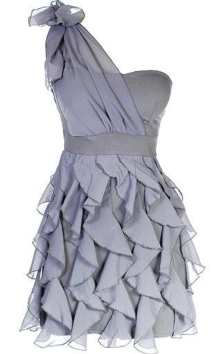 Chandelier Frills Dress