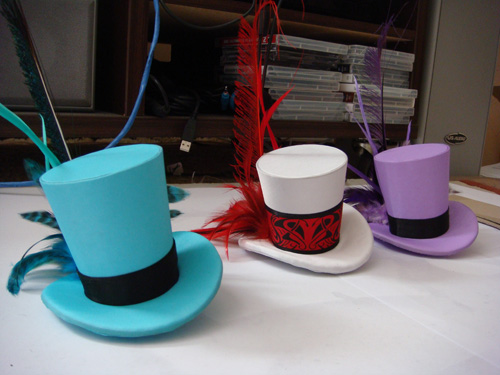 Mini top hats!