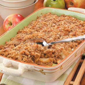 Carmel Apple Crisp