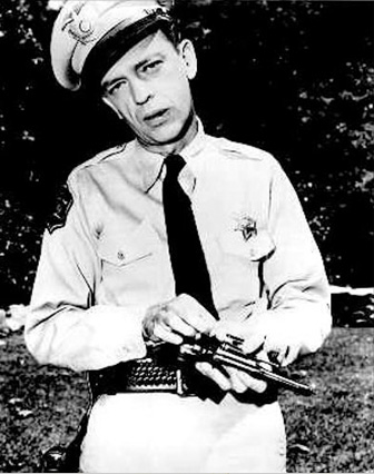 Barny Fife, Lawman. From The Andy Griffith Show.