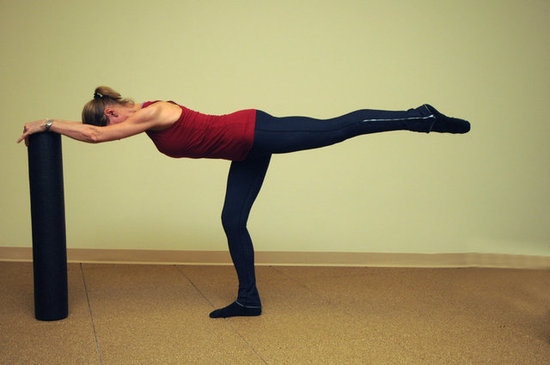 Barre Workouts For Your Arms, Legs, and Butt ~ you can use your kitchen counter