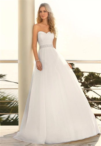 sweetheart ball gown!