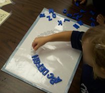 Lots and lots of alphabet ideas