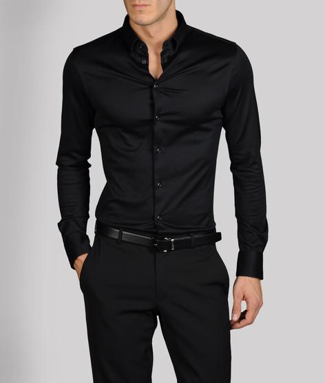 black on black on black…Armani