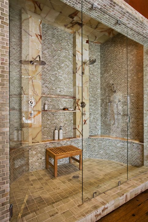 Great shower— OMG!
