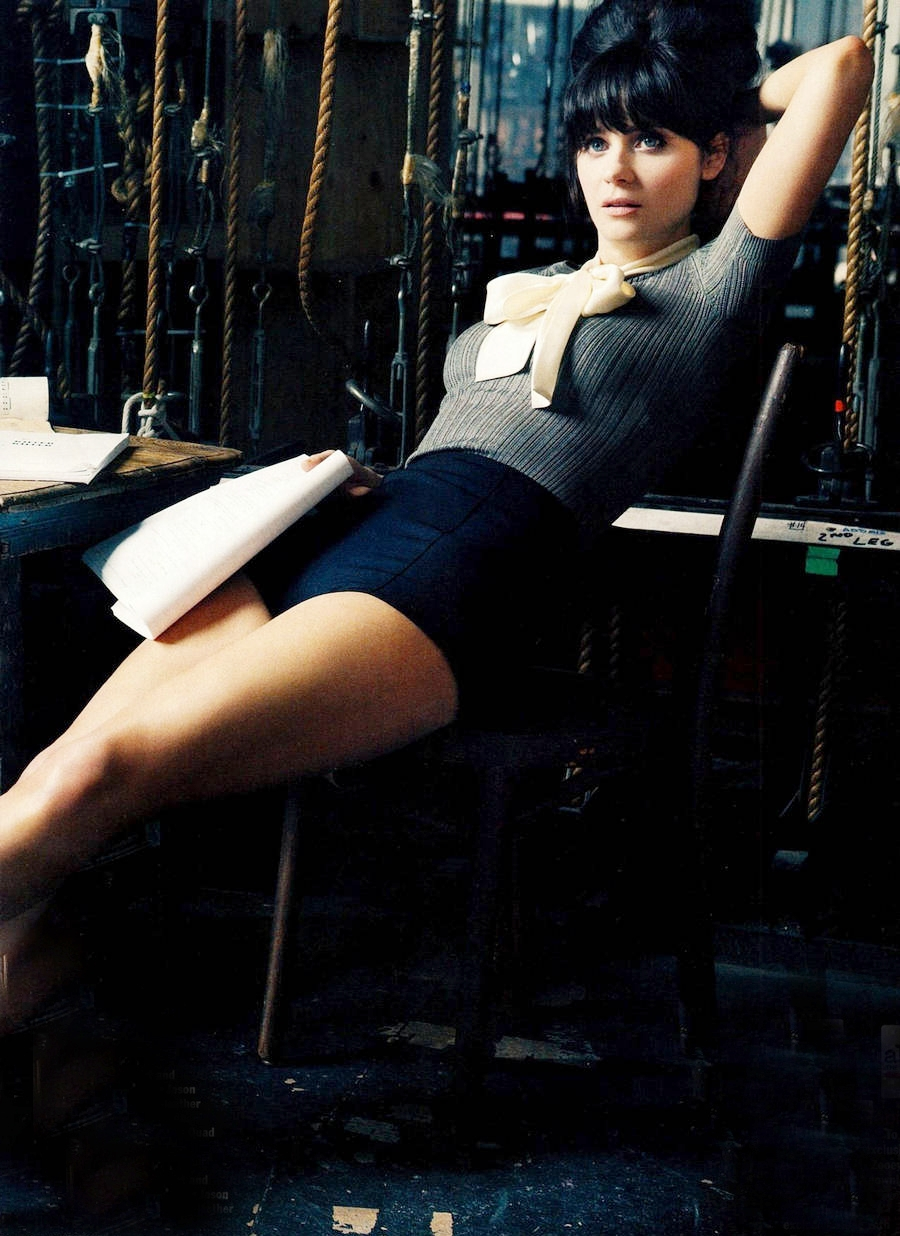 Zoey Deschanel.