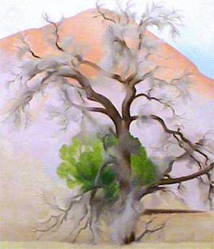 Georgia O'Keeffe. Pinon with Cedars