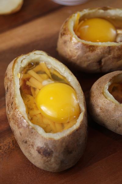 Egg Baked Potatoes