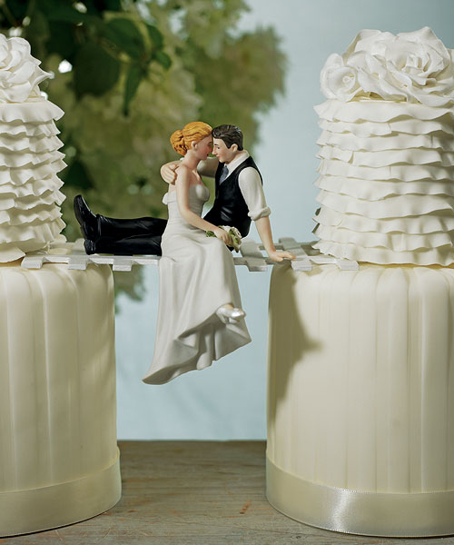 """""""The Look of Love"""" Bride and Groom Couple Figurine –Awwe, this is too"""