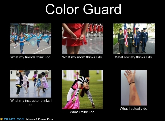 For all my high school guard girls!!!