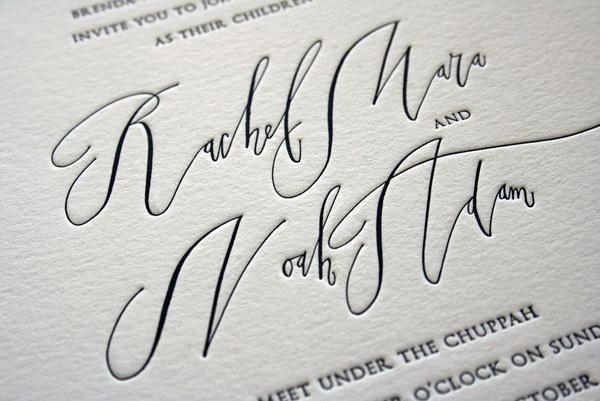 stunning calligraphy #invite #wedding