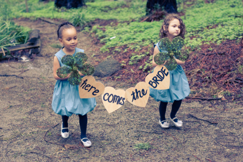 Maybe I'll have 2 flower girls? ♥3