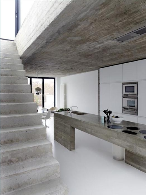 #concrete formed staircase #thingsOfBeauty
