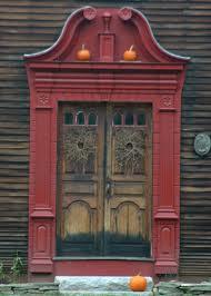 New England Colonial door