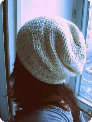 Adorable slouchy hat