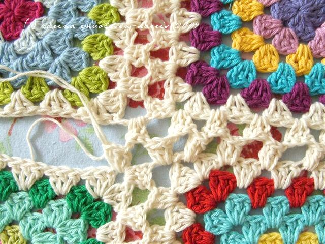 5 ways to join granny squares