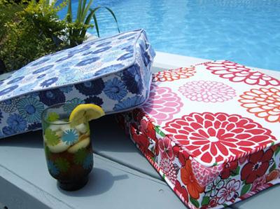 Summer Sewing ~ Perfectly Portable Cushion « Sew,Mama,Sew! Blog