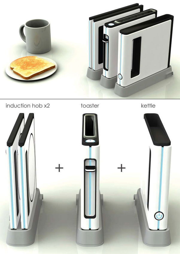 Space Saving Kitchen Appliances + Other Award Winning Designs from the Electrolu