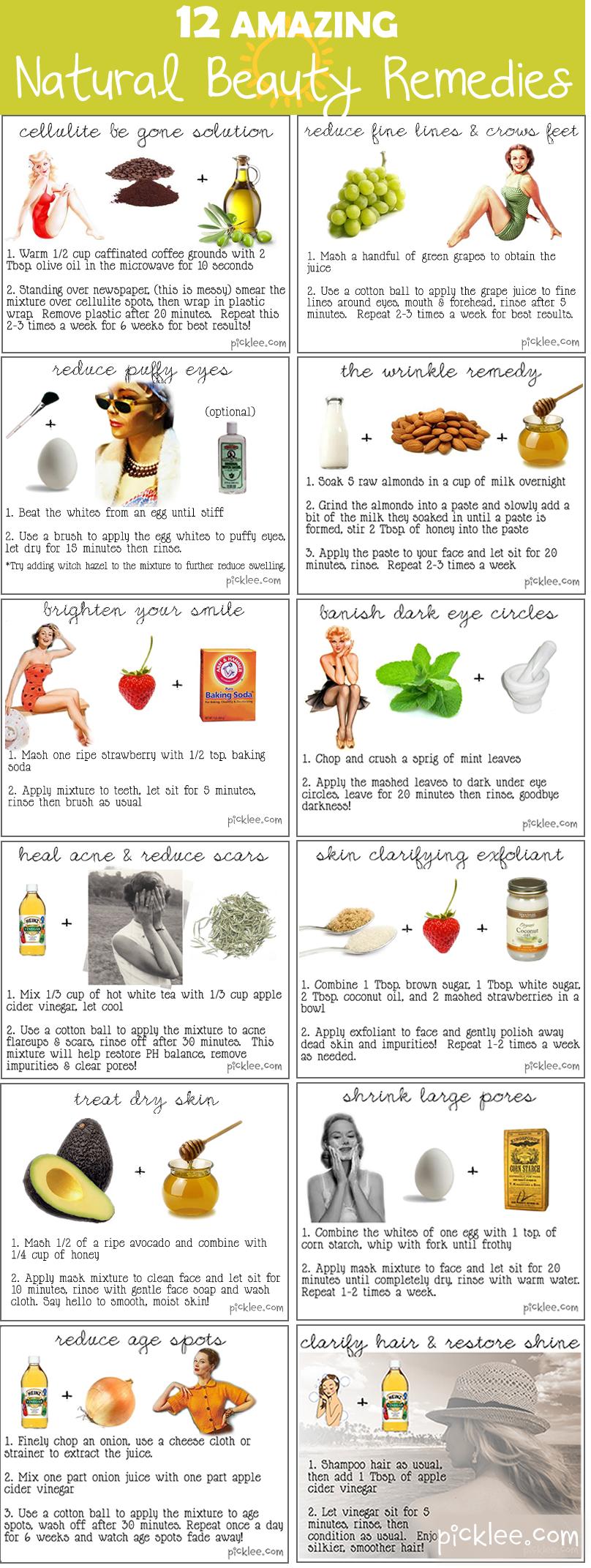 12 Beauty Recipes