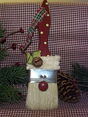 paint brush ornament