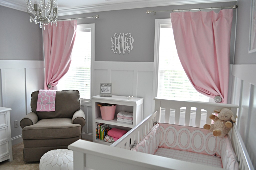 Could make gender neutral. Do the grey and white until baby is born and add pink