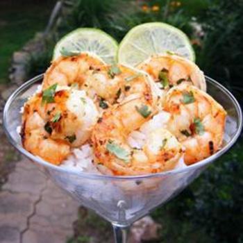 Margarita Grilled Shrimp-sounds delish