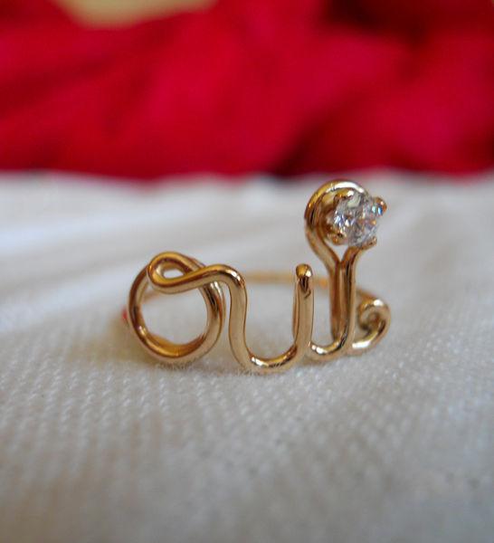 Oui Ring by Demi Corbett : Wantist