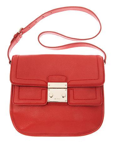DKNY handbag, vintage leather