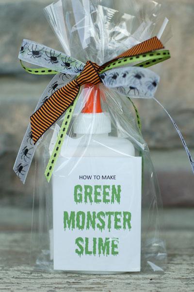 Cute little gift – How to make your own monster slime kit!