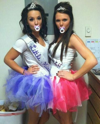 Toddlers and Tiaras costumes. Too funny… Definite Halloween possibility