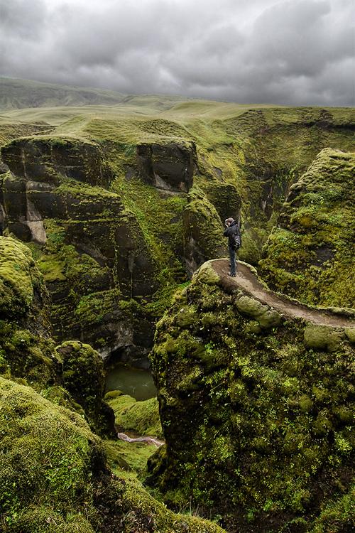✭ Fjaðrárgljúfur Canyon, Iceland