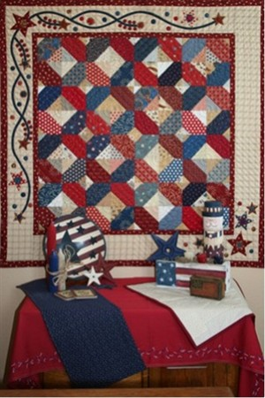 Love the old red, white and blue.