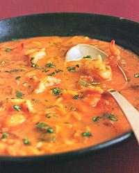 Brazilian Shrimp Soup Recipe from Food & Wine