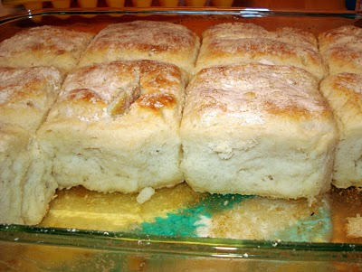 Bisquick, sour cream, 7up and butter!…. These are excellent!!!! So easy and so