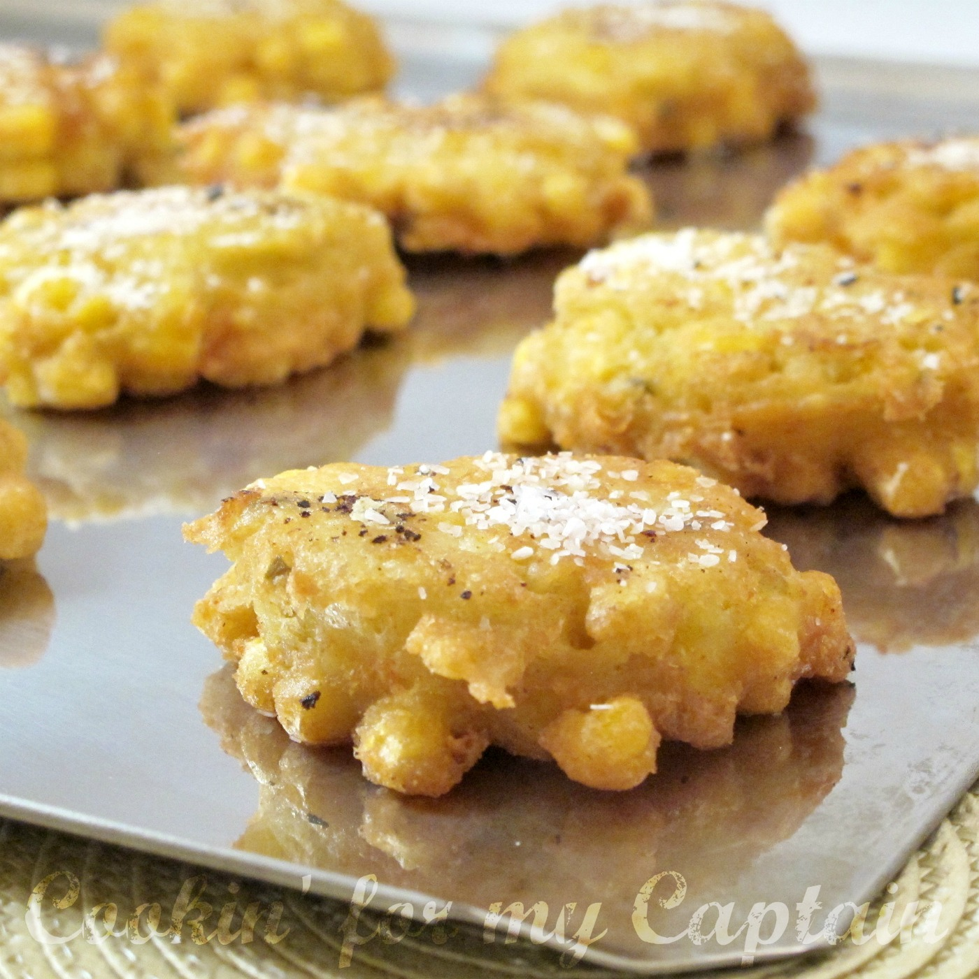 Corn Crisps – would be awesome with chili instead of cornbread.