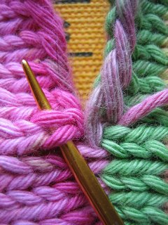 Knitting Seams (I didn't know you could do this!)
