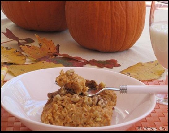 #Health & #Fitness – Pumpkin Custard Oatmeal Recipe
