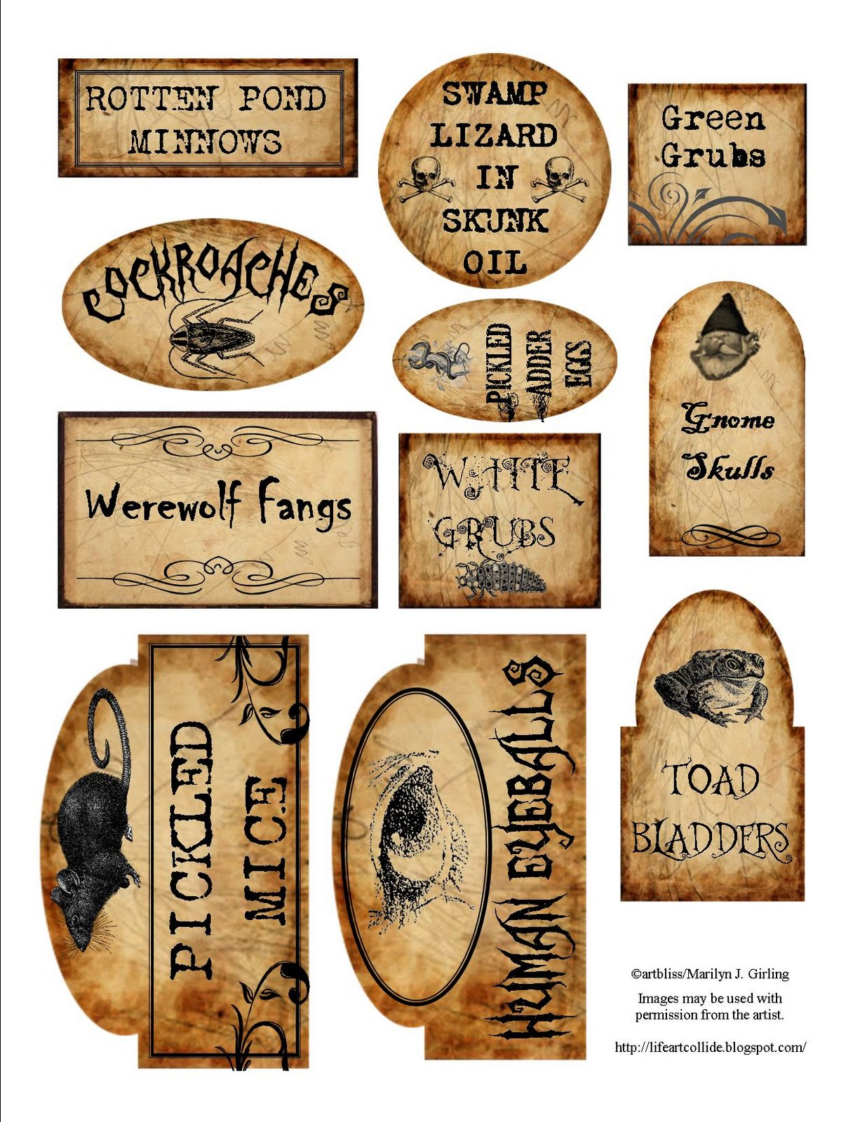 Apothecary Jar Labels For Download Jpg Google Docs Pinpoint
