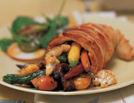 Yoga Journal – Roasted Vegetable Cornucopias with Gravy