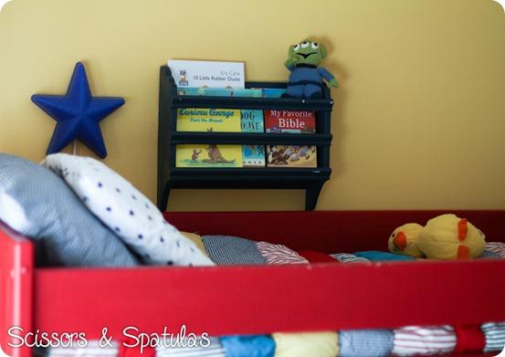 Wall Book Rack