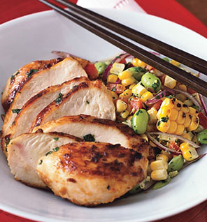 This is one of my most favorite Chicken dishes..pair w the roasted corn (I use f